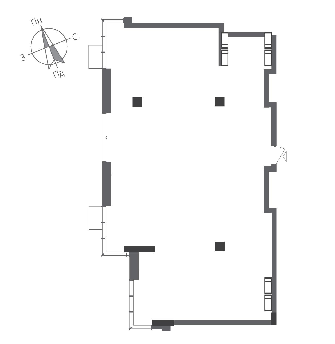 Трикімнатна квартира в ЖК RiverStone Номер квартири №18, Будинок 8, Поверх 18, Повна площа 129,54