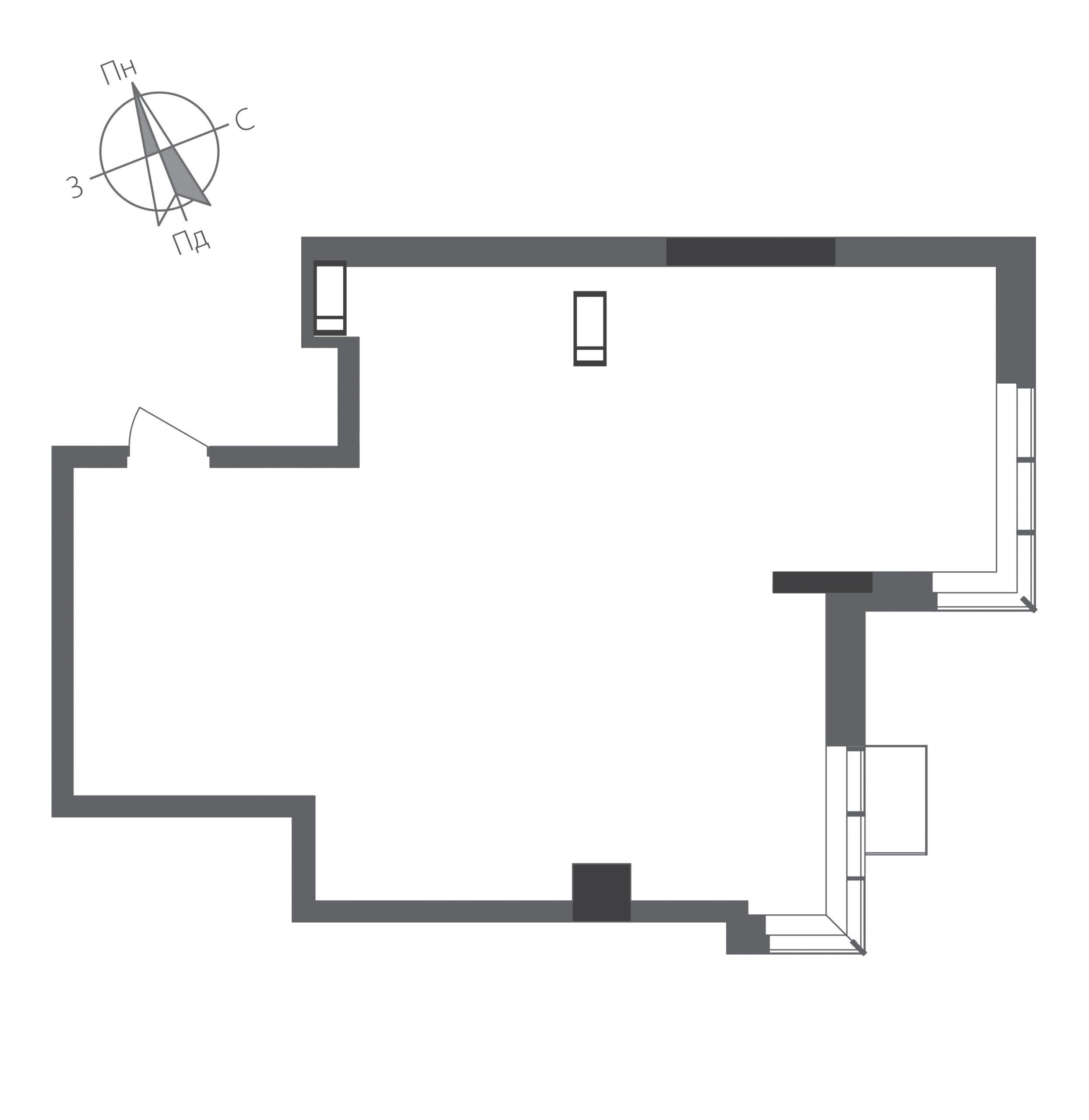 Номер квартиры №1401, Дом 9, Этаж 14, Полная площадь 62,67