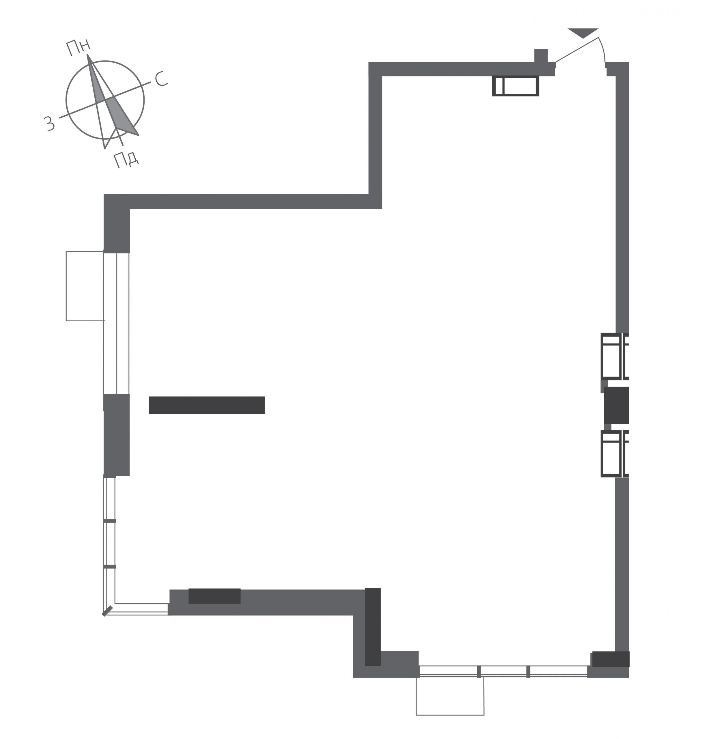 Номер квартиры №0303, Дом 9, Этаж 3, Полная площадь 82,01