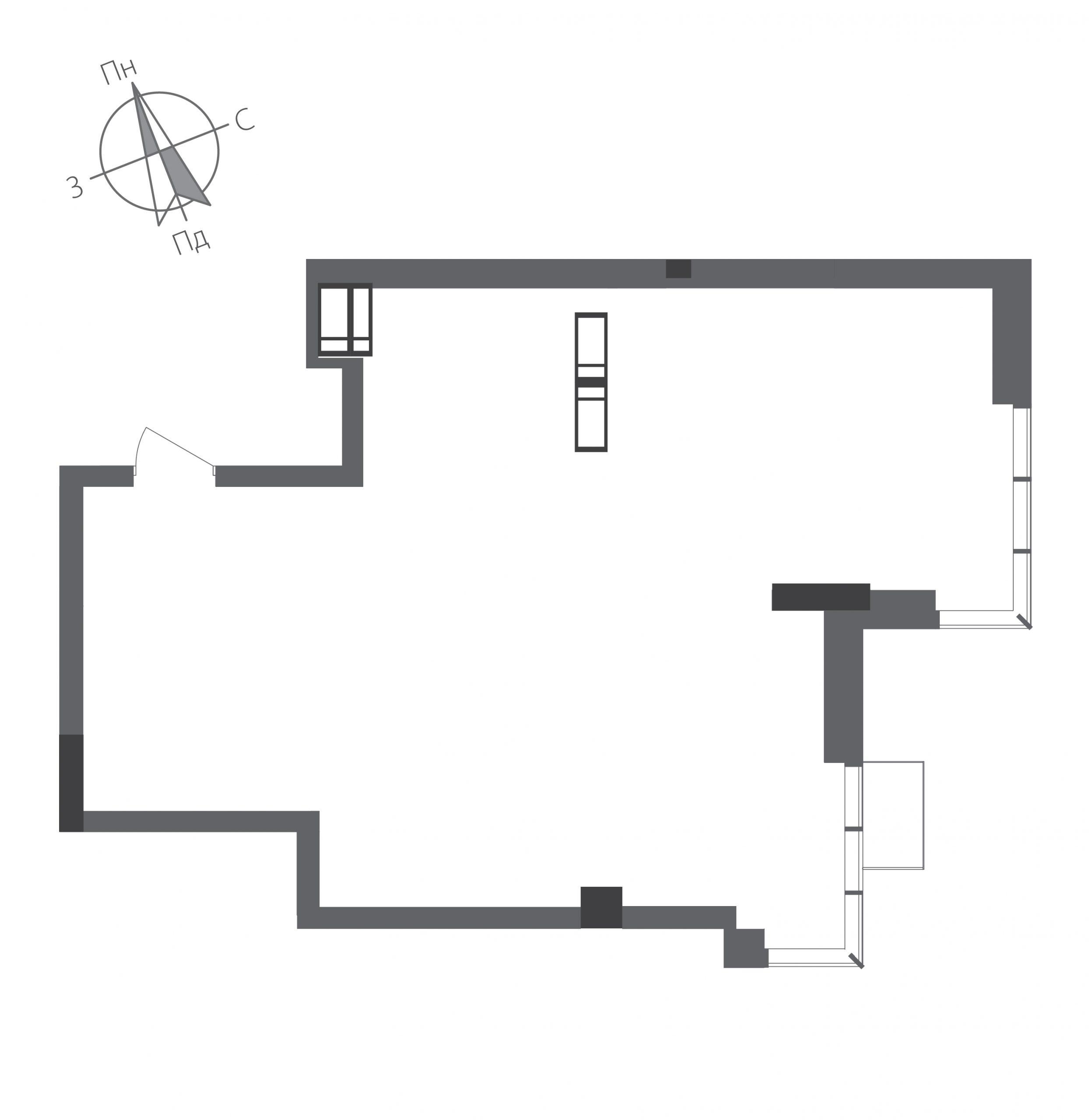 Номер квартиры №2001, Дом 9, Этаж 20, Полная площадь 63,30