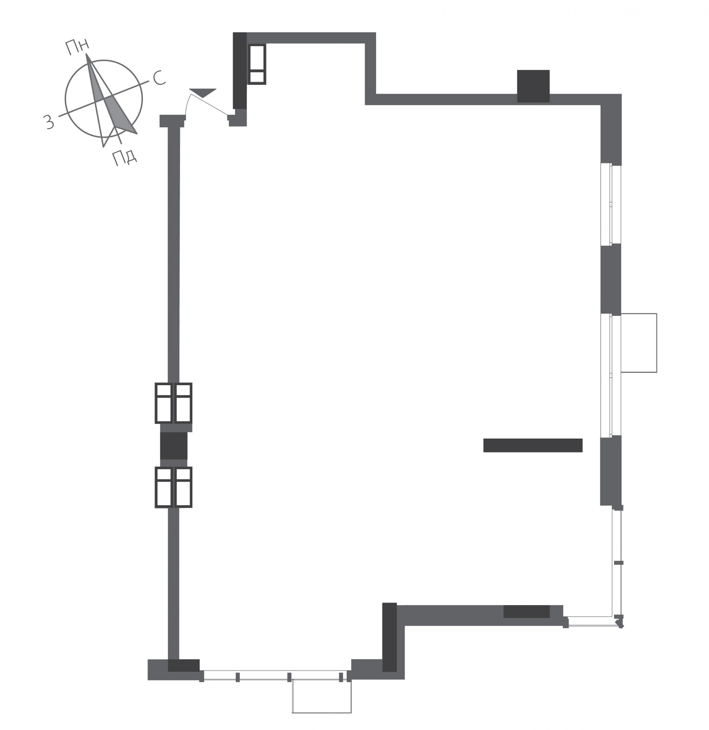 Трикімнатна квартира в ЖК RiverStone Номер квартири №19, Будинок 9, Поверх 19, Повна площа 108,42