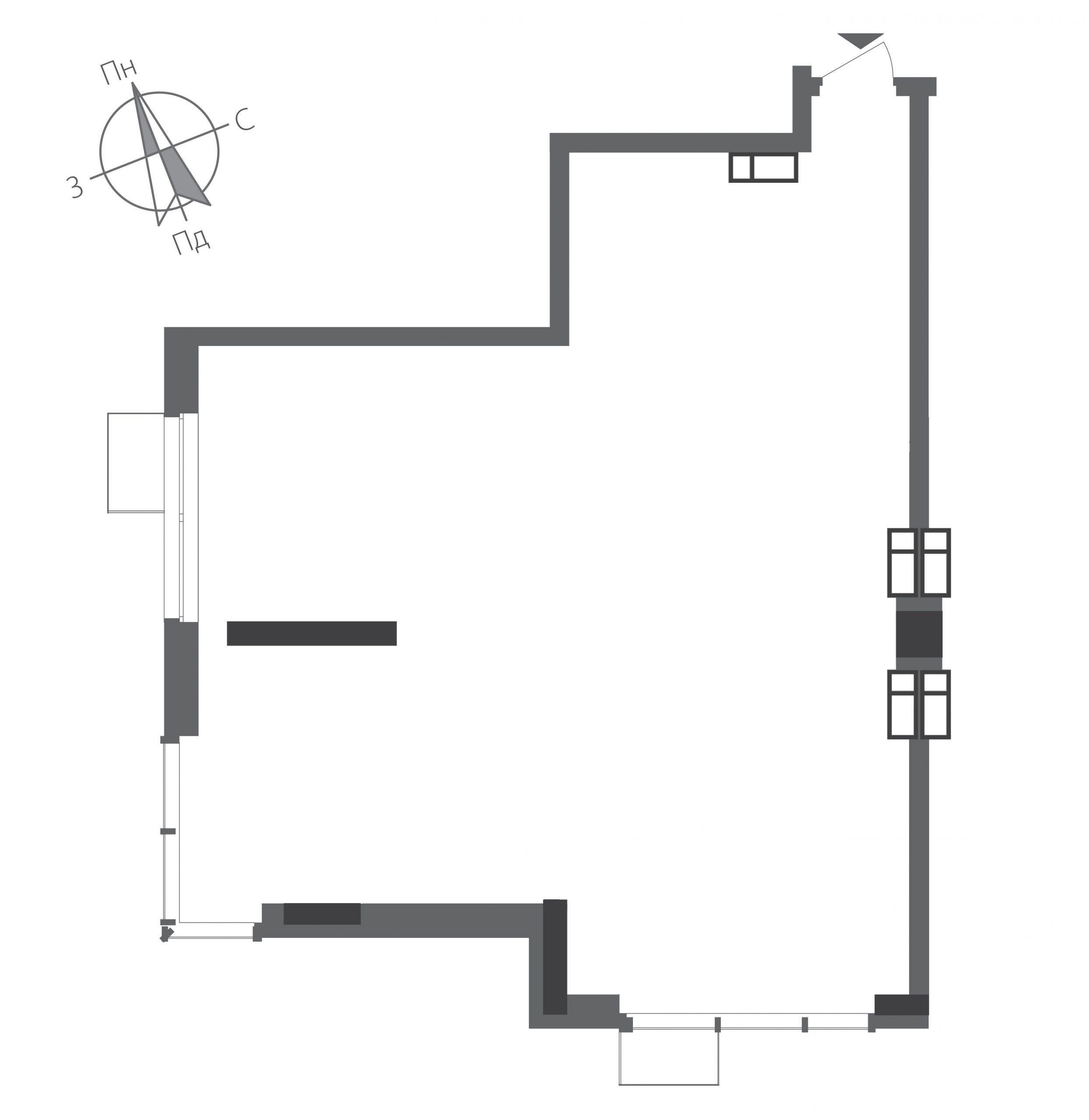 Номер квартиры №1503, Дом 9, Этаж 15, Полная площадь 83,03